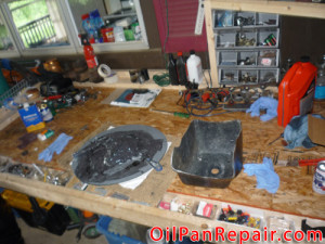 Mixed Epoxy for Ford Oil Pan Repair Kit